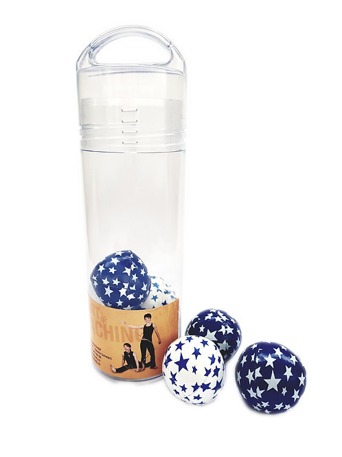 Taschen-Flasche «Jonglierbälle Junior»