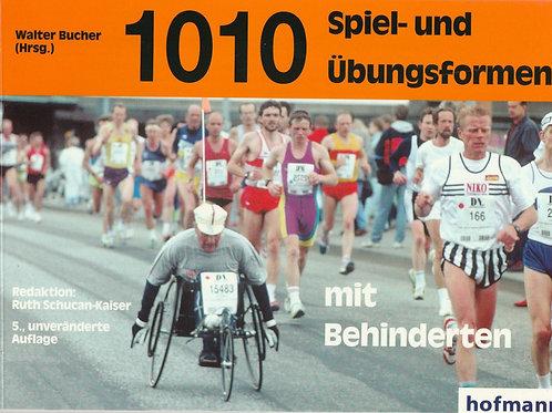 1010 Spiel- und Übungsformen mit Behinderten