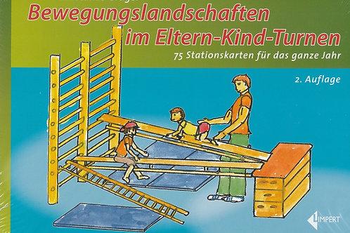 Bewegungslandschaften im Eltern-Kind-Turnen (C.Grüger)