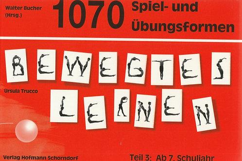 1070 Spiel- und Übungsformen Bewegtes Lernen (Trucco)