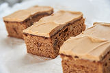 Coffee & Walnut Slice