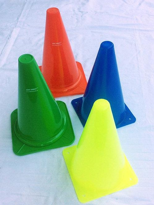 Markierungshütchen in verschiedenen Farben