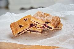 Cherry & Almond slice