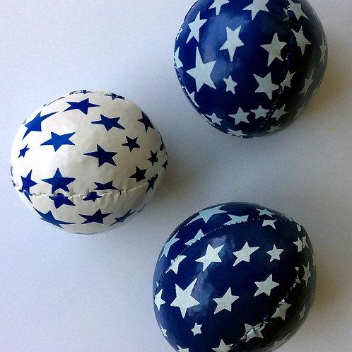 3 Jonglierbälle Junior 6 cm Durchmesser - 80 Gramm