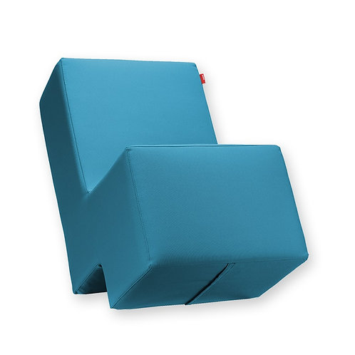 Sitzsessel Lümmel, klein, hellblau