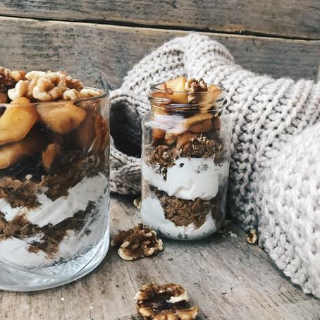 Dessert: winters trifle dessert