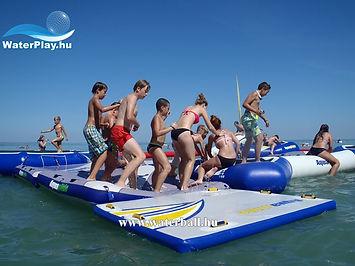 medence, pool, inflatable, felfújható, waterball, water-ball, water ball, waterroller, waterpark, kalandpark, water park, kilövő, blob, wibit, water-park
