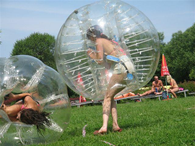 Buborékszumó - Bubbleball