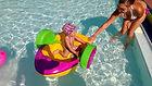 kalandpark, kaland park, játék, csónak, aqua paddler, vizicsopper