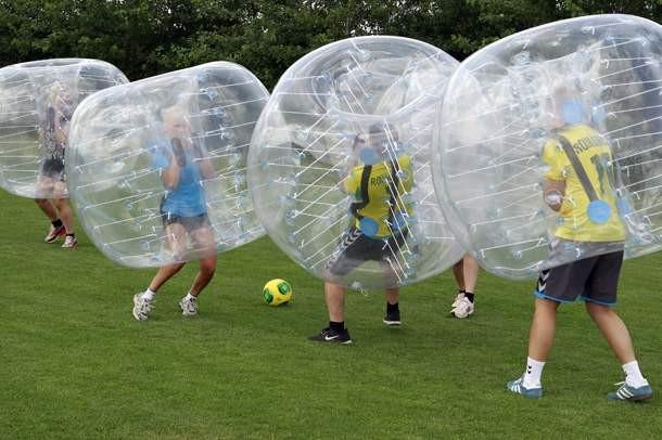 Buborékfoci, bumper ball, buborékszumó
