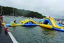 water ball, water-ball, waterball, trambulin, trampoline, bérel, berel, játék, water park