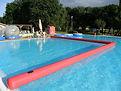 térelválasztó, bója, water roller, játék, bérlés, water ball, waterball