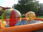 pool, medence, felfújható, értékesítés, bérbe, water ball, csónak