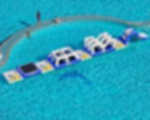 waterpark, víziélménypark, aquatrack, bérbe, bérelhető, bérlés, water-ball, waterball.hu, waterball, water ball, pálya, felfújható, játék