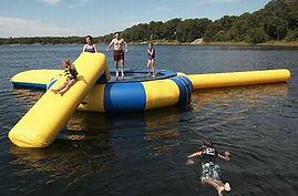 trambulin, slide, csúszda, waterpark, viziélménypark, bérbe, bérelhető, bérlés, water-ball, waterball.hu, waterball, water ball, medence, felfújható, játék