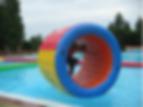 aquarunner, water roller, játék, bérlés, water ball, waterball