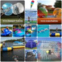 water ball, előrendelési akció, kalandpark, water park, játék, építés