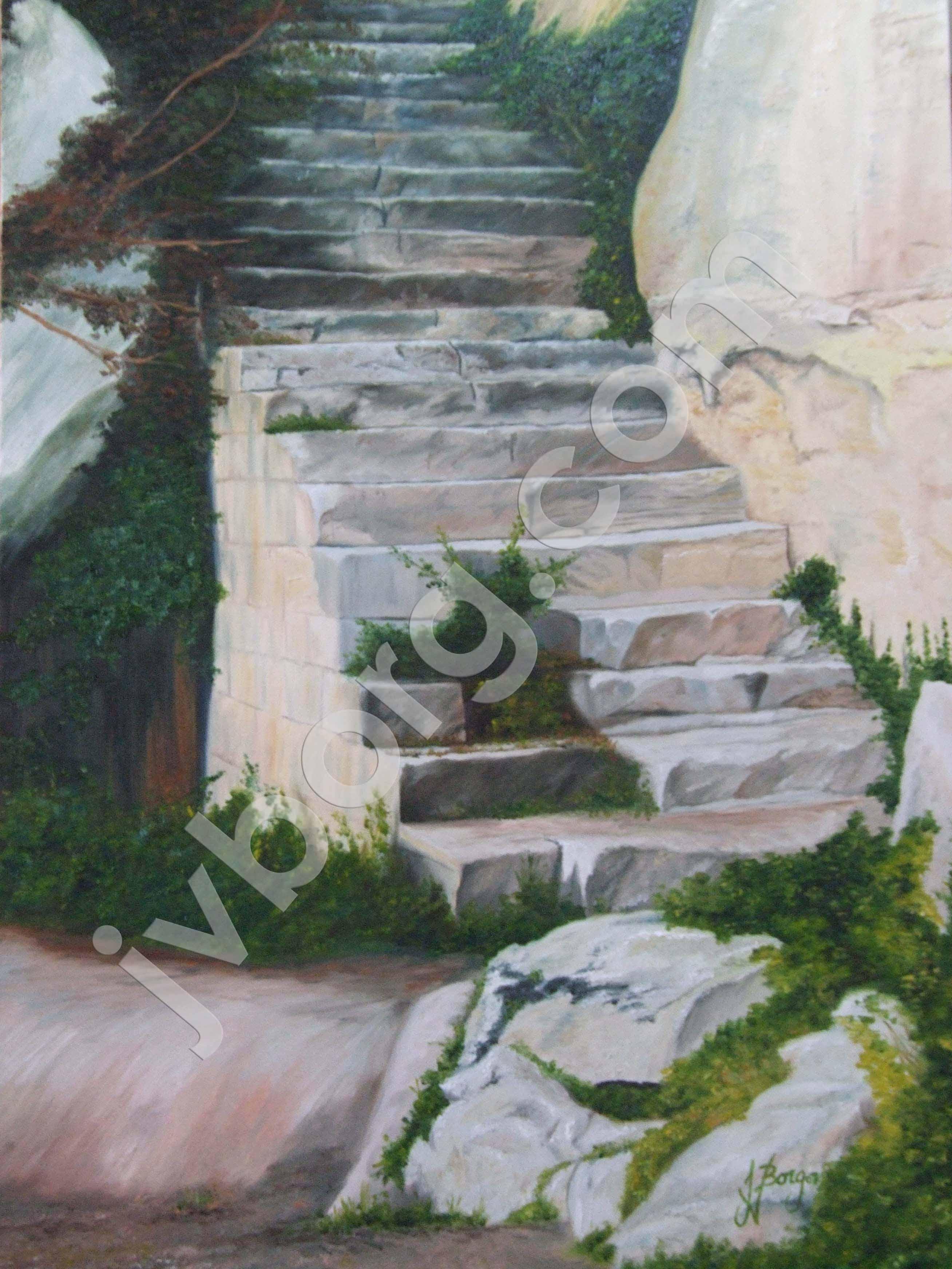 Maqluba Stairs