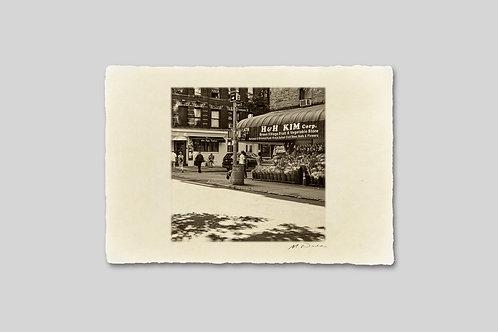手漉き和紙,写真,インテリア,ニューヨーク,マンハッタン,街並み,ソーホー,おしゃれ,インテリアフォト,風景,アート,モダン,プレゼント,ギフト,ハガキサイズ,部屋飾り