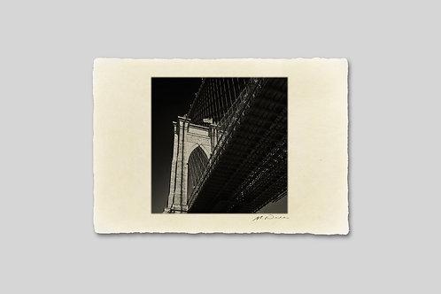 手漉き和紙,写真,インテリア,ニューヨーク,ブルックリンブリッジ,橋,おしゃれ,インテリアフォト,風景,アート,モダン,プレゼント,ギフト,ハガキサイズ,部屋飾り
