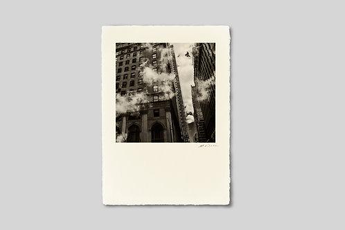 写真,ニューヨーク,インテリア,手漉き和紙,マンハッタン,ビル群,風景,都会,水蒸気,街並み,ポスター,インテリアフォト,大きいサイズ,額装,正方形,和室,オリジナルプリント,アート,フレーム,おしゃれ,モダン,壁掛け,壁飾り,プレゼント