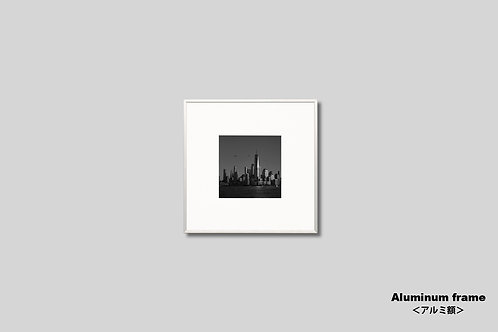 ニューヨーク,インテリア,写真,マンハッタン,都会,ワールドトレードセンター,摩天楼,ビル群,インテリアフォト,額入り,額装,モノクロ,壁掛け,オリジナルプリント,アートフレーム,おしゃれ,モダン,プレゼント,壁飾り,ウォールアート,新築祝い