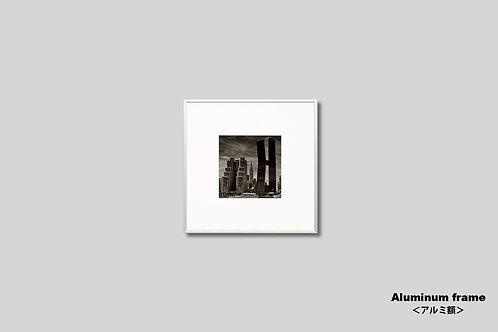 ニューヨーク,エンパイアステートビル,インテリア,写真,風景,マンハッタン,ビル群,都会,正方形,インテリアフォト,アート,額入り,額装,オリジナルプリント,アートフレーム,おしゃれ,モダン,プレゼント,壁掛け,壁飾り,装飾,新築祝い