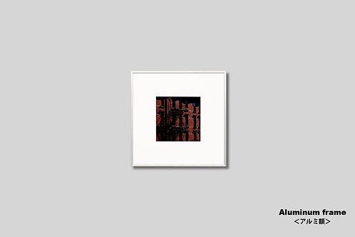 ニューヨーク,インテリア,写真,風景,マンハッタン,チェルシー,街並み,インテリアフォト,正方形,アート,額入り,額装,オリジナルプリント,アートフレーム,フォトフレーム,おしゃれ,モダン,プレゼント,壁掛け,壁飾り,装飾,ウォールアート,新築祝い