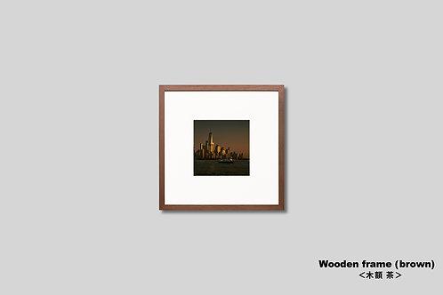 写真,ニューヨーク,ワールドトレードセンター,インテリア,正風景,マンハッタン,摩天楼,ビル群,夕景,都会,インテリアフォト,アート,額入り,額装,アートフレーム,フォトフレーム,おしゃれ,モダン,プレゼント,壁掛け,壁飾り,ウォールアート,新築祝い