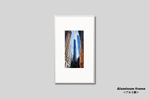 ニューヨーク,インテリア,写真,風景,マンハッタン,街並み,都会,ビル,インテリアフォト,アート,額入り,額装,オリジナルプリント,アートフレーム,フォトフレーム,おしゃれ,モダン,プレゼント,壁掛け,壁飾り,ウォールアート,新築祝い