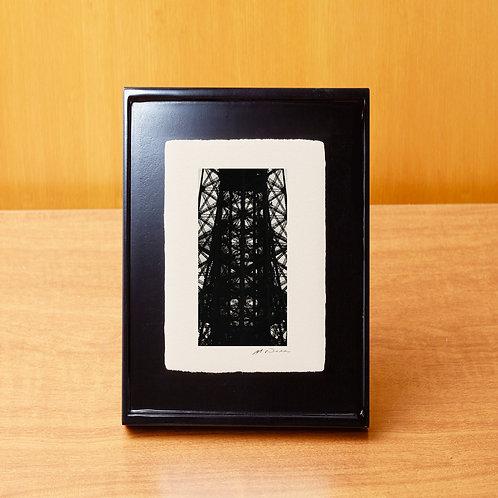 手漉き和紙,写真,風景,フランス,パリ,エッフェル塔,インテリアフォト,おしゃれ,モダン,アートフレーム,卓上額,置き型,装飾,オリジナルプリント,フォトフレーム,プレゼント,ギフト