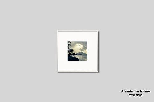オールドハワイアン,アート,写真,新築祝い,プレゼント,おしゃれ,モダン,インテリア,風景,自然,ハワイ,海,ヤシの木,サーフィン,正方形,インテリアフォト,額入り,額装,オリジナルプリント,アートフレーム,壁掛け,壁飾り