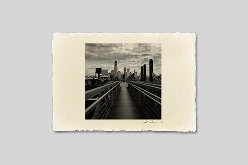 手漉き和紙,写真,インテリア,ニューヨーク,マンハッタン,ビル群,おしゃれ,インテリアフォト,風景,アート,モダン,プレゼント,ギフト,ハガキサイズ,部屋飾り