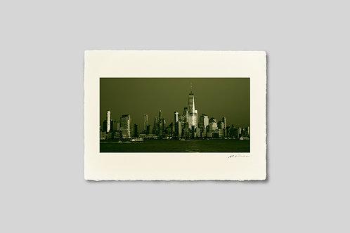 写真,ニューヨーク,手漉き和紙,インテリア,風景,マンハッタン,ビル群,摩天楼,夕暮れ,ポスター,インテリアフォト,都会,大きいサイズ,額装,和室,オリジナルプリント,アート,おしゃれ,モダン,壁掛け,壁飾り,装飾,プレゼント