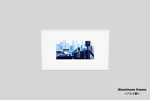 写真,ニューヨーク,インテリア,風景,マンハッタン,摩天楼,ビル群,インテリアフォト,アート,額入り,額装,オリジナルプリント,アートフレーム,フォトフレーム,おしゃれ,モダン,プレゼント,壁掛け,壁飾り,装飾,ウォールアート,新築祝い