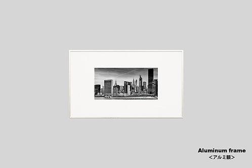 ニューヨーク,インテリア,写真,風景,マンハッタン,摩天楼,都会,ワールドトレードセンター,ビル群,インテリアフォト,アート,額入り,モノクロ,オリジナルプリント,アートフレーム,フォトフレーム,おしゃれ,モダン,プレゼント,壁掛け,壁飾り,新築祝い