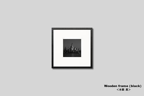 ニューヨーク,ワールドトレードセンター,写真,インテリア,マンハッタン,風景,摩天楼,ビル群,インテリアフォト,アート,額入り,壁掛け,壁飾り,モノクロ,オリジナルプリント,アートフレーム,フォトフレーム,おしゃれ,モダン,プレゼント,新築祝い