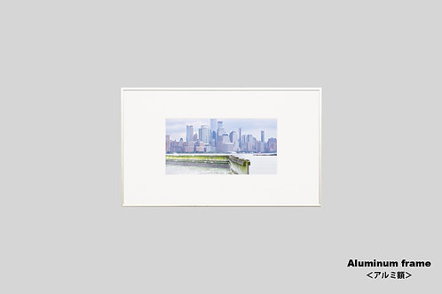 ニューヨーク,インテリア,写真,風景,マンハッタン,摩天楼,ビル群,インテリアフォト,アート,額入り,額装,オリジナルプリント,アートフレーム,フォトフレーム,おしゃれ,モダン,プレゼント,壁掛け,壁飾り,装飾,ウォールアート,新築祝い