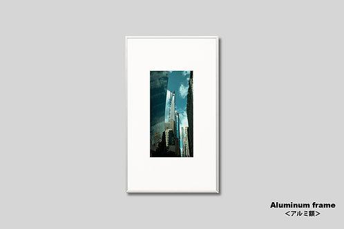 ニューヨーク,インテリア,写真,街並み,風景,マンハッタン,摩天楼,都会,ビル,インテリアフォト,アート,額入り,額装,オリジナルプリント,アートフレーム,フォトフレーム,おしゃれ,モダン,プレゼント,壁掛け,壁飾り,ウォールアート,新築祝い