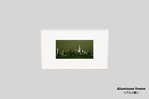 ニューヨーク,マンハッタン,ワールドトレードセンター,インテリア,写真,風景,摩天楼,ビル群,インテリアフォト,都会,アート,額入り,額装,アートフレーム,フォトフレーム,おしゃれ,モダン,プレゼント,壁掛け,壁飾り,装飾,ウォールアート,新築祝い