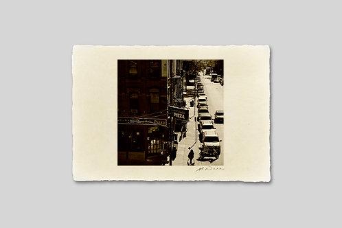 手漉き和紙,写真,インテリア,ニューヨーク,マンハッタン,街並み,チェルシー,おしゃれ,インテリアフォト,風景,アート,モダン,プレゼント,ギフト,ハガキサイズ,部屋飾り