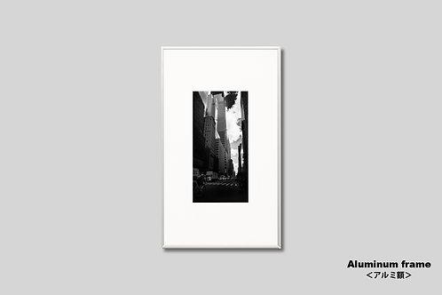 ニューヨーク,写真,モノクロ,マンハッタン,街並み,インテリア,風景,ビル群,インテリアフォト,アート,額入り,額装,オリジナルプリント,アートフレーム,フォトフレーム,おしゃれ,モダン,プレゼント,壁掛け,壁飾り,装飾,ウォールアート,新築祝い