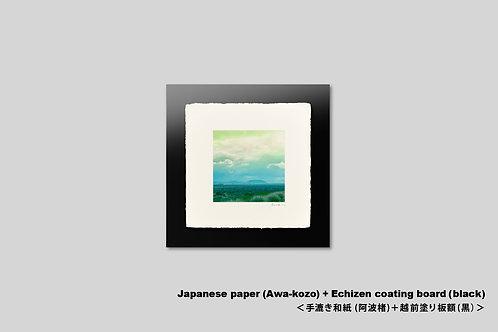 手漉き和紙,インテリアフォト,ハワイ,風景写真,海,ハワイ島,アート,壁掛け,アートフレーム,おしゃれ,額装,アートポスター,壁飾り