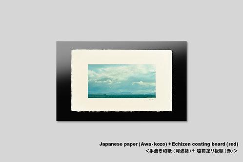 手漉き和紙,インテリアフォト,ハワイ,風景写真,ハワイ島,南国,アート,壁掛け,アートフレーム,おしゃれ,額装,アートポスター,壁飾り