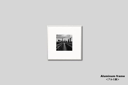 ニューヨーク,インテリア,写真,モノクロ,正方形,風景,マンハッタン,ビル群,インテリアフォト,アート,額入り,額装,オリジナルプリント,アートフレーム,フォトフレーム,おしゃれ,モダン,プレゼント,壁掛け,壁飾り,装飾,ウォールアート,新築祝い