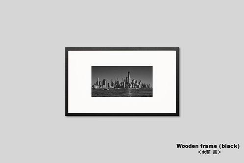 ニューヨーク,インテリア,写真,モノクロ,風景,マンハッタン,ワールドトレードセンタ,摩天楼,ビル群,インテリアフォト,アート,額入り,オリジナルプリント,アートフレーム,おしゃれ,モダン,プレゼント,壁掛け,壁飾り,装飾,ウォールアート,新築祝い