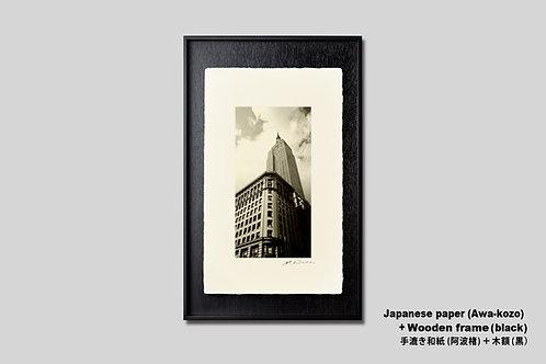 手漉き和紙,ニューヨーク,写真,インテリア,風景,マンハッタン,エンパイアステートビル,インテリアフォト,アート,額装,オリジナルプリント,おしゃれ,モダン,プレゼント,壁掛け,壁飾り,装飾,ウォールアート,新築祝い