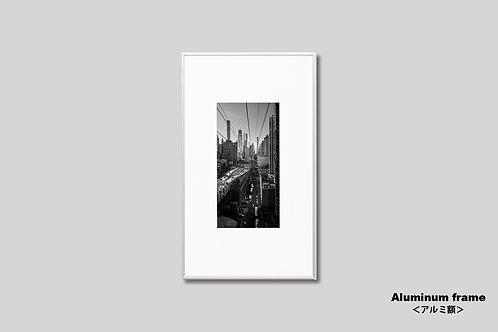 写真,ニューヨーク,インテリア,マンハッタン,街並み,モノクロ,インテリアフォト,アート,都会,額入り,額装,オリジナルプリント,アートフレーム,フォトフレーム,おしゃれ,モダン,プレゼント,壁掛け,壁飾り,装飾,ウォールアート,新築祝い