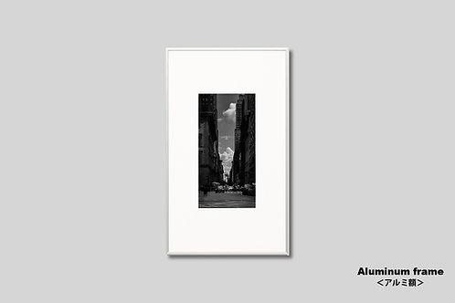 マンハッタン,街並み,ニューヨーク,インテリア,モノクロ,写真,風景,ビル,都会,インテリアフォト,アート,額入り,額装,オリジナルプリント,アートフレーム,フォトフレーム,おしゃれ,モダン,プレゼント,壁掛け,壁飾り,装飾,ウォールアート,新築祝い