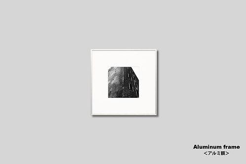 ニューヨーク,写真,インテリア,オリジナルプリント,アートフレーム,モノクロ,正方形,風景,ブルックリン,ビル,インテリアフォト,アート,額入り,額装,フォトフレーム,おしゃれ,モダン,プレゼント,壁掛け,壁飾り,ウォールアート,新築祝い